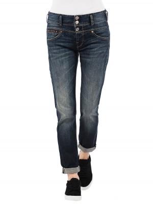 Herrlicher Raya Boyfriend Jeans Damen dunkelblau vorne
