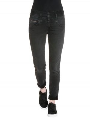 Herrlicher Raya Boyfriend Jeans Damen schwarz