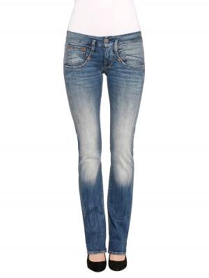 Herrlicher Shyra Denim Comfort + Jeans hellblau vorne