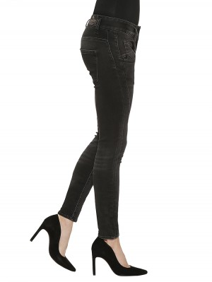 Herrlicher Shyra Slim Denim Black Stretch Jeans