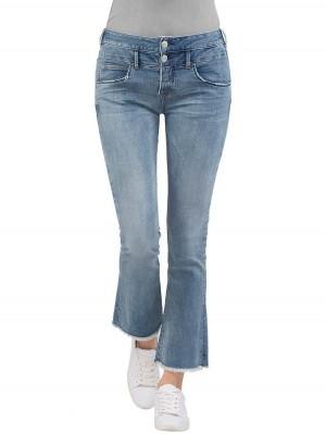 Herrlicher Baby Cropped Denim Powerstretch Jeans vorne