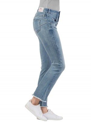 Herrlicher Baby Cropped Denim Powerstretch Jeans