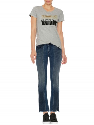 Herrlicher Baby Cropped Jeans Two-in-One