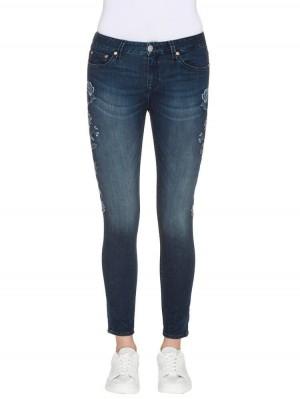 Herrlicher Superslim Cropped Denim Stretch Jeans