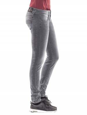 Herrlicher Mora Slim Denim Black Stretch Jeans