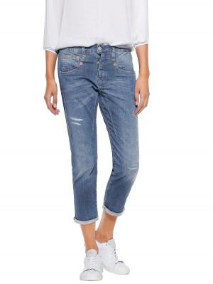 Herrlicher Shyra Cropped Cashmere-Touch Jeans