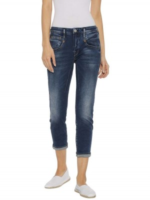 Herrlicher Shyra Cropped Powerstretch Jeans