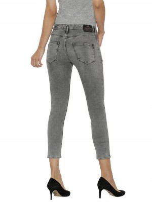 Herrlicher Shyra Cropped Black Jeans
