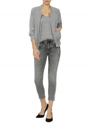 Herrlicher Shyra Cropped Jogg Jeans Black