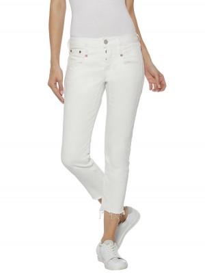 Herrlicher Shyra Cropped Jeans White