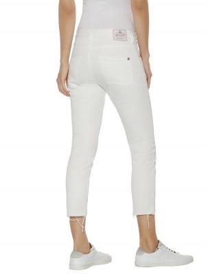 Herrlicher Shyra Cropped White Jeans