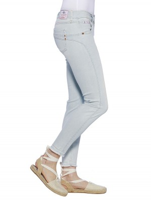 Herrlicher Touch Cropped Denim Powerstretch Jeans