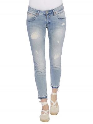 Herrlicher Touch Cropped Denim Stretch Jeans vorne