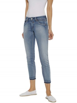 Herrlicher Touch Cropped Powerstretch Jeans