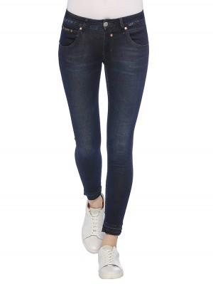 Herrlicher Touch Cropped Denim Powerstretch Jeans