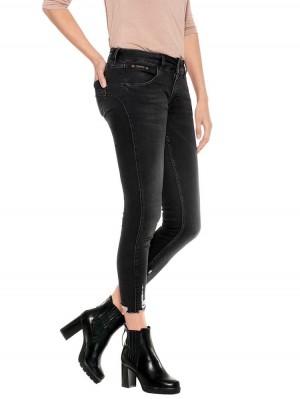 Herrlicher Touch Cropped Stretch Jeans