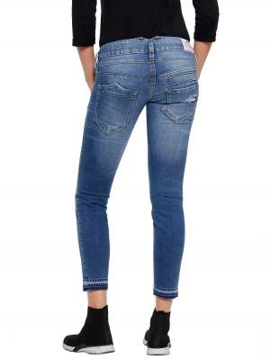 Herrlicher Pitch Slim Cropped Jeans mit Kaschmir-Touch