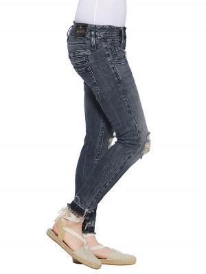 Herrlicher Pitch Slim Cropped Denim Comfort + Jeans