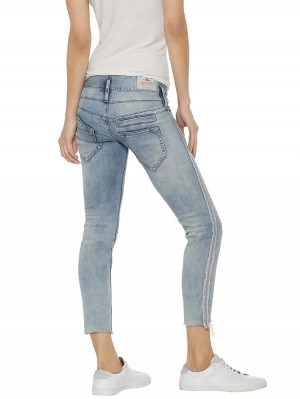 Herrlicher Pitch Slim Cropped Stretch Jeans
