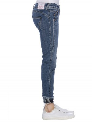 Herrlicher Gila Slim Cropped Denim Comfort + Jeans