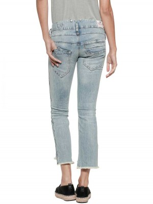 Herrlicher Pitch Cropped Straight Jeans