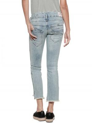 Herrlicher Pitch Cropped Straight Jeans