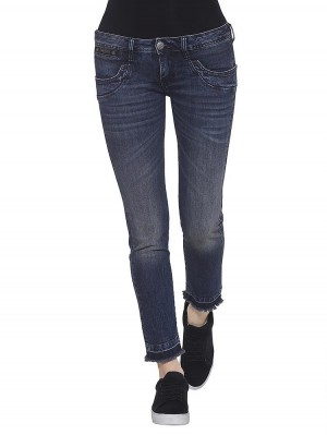 Herrlicher Piper Slim Cropped Stretch Jeans