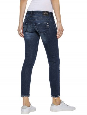 Herrlicher Piper Slim Cropped Powerstretch Jeans
