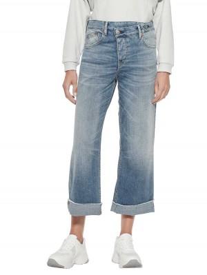 Herrlicher Mäze Jeans mit asymmetrischem Knopfverschluss