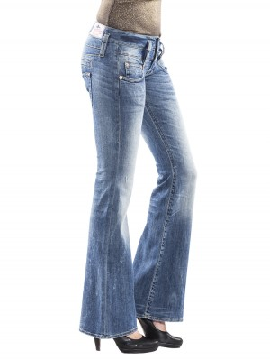 Herrlicher Pitch Flare Denim Stretch Jeans