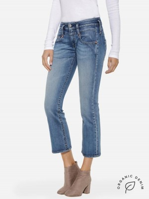 Herrlicher Pitch Boot Jeans mit Bio-Baumwolle