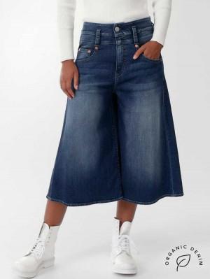 Herrlicher Pitch Mom Gaucho Jeans aus Bio-Baumwolle