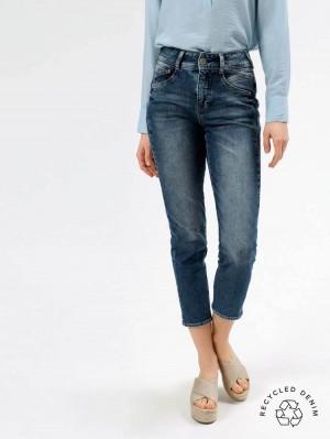 Herrlicher Gila HI Conic Jeans mit recycelter Baumwolle