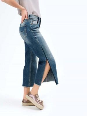 Herrlicher Super G Flared Jeans mit Cashmere-Touch