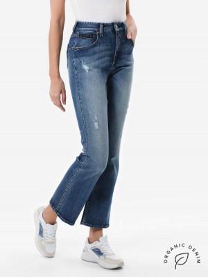 Touch HI Bootcut Jeans aus Bio-Baumwolle