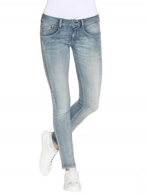 Herrlicher Gila Slim Denim Powerstretch Jeans hellblau