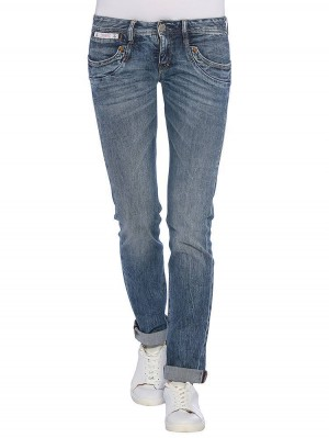 Herrlicher Piper Straight Stretch Jeans