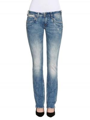 Herrlicher Piper Denim Stretch Jeans hellblau