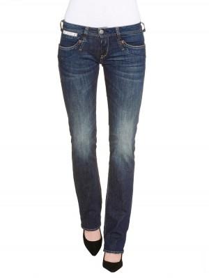 Herrlicher Piper Denim Stretch Jeans dunkelblau vorne