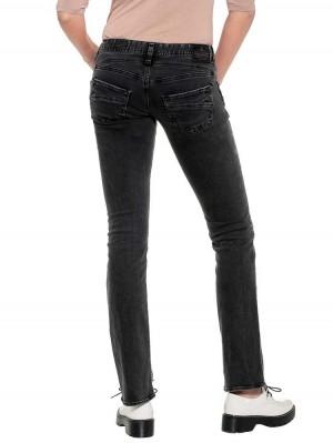 Herrlicher Piper Straight Black Jeans