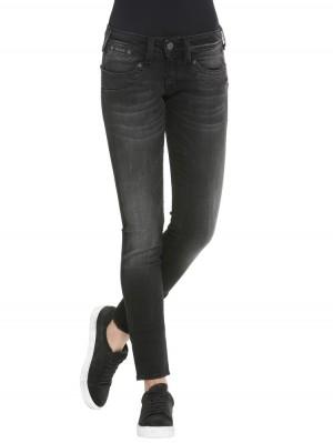 Herrlicher Piper Slim Jeans in Schwarz