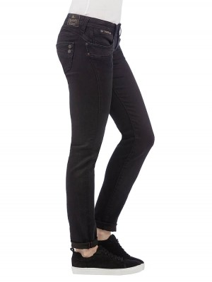 Herrlicher Piper Slim Denim Black Stretch Jeans