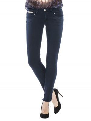 Herrlicher Piper Slim Gabardine Stretch Jeans dunkelblau vorne
