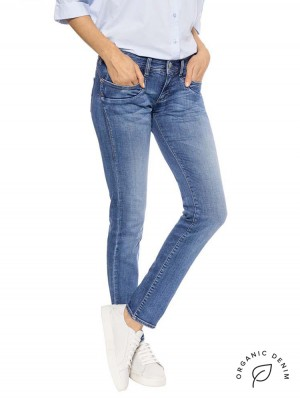 Herrlicher Piper Slim Jeans mit Bio-Baumwolle