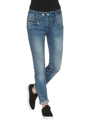 Herrlicher Bijou Denim Powerstretch Jeans blau
