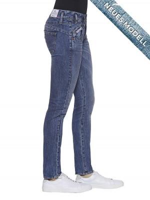 Herrlicher Pearl Slim Denim Comfort + Jeans