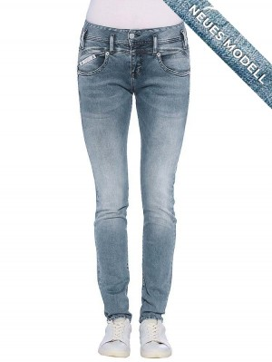 Pearl Slim Denim Powerstretch, cloudy vorne