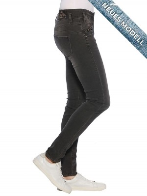 Herrlicher Pearl Slim Denim Black Stretch Jeans