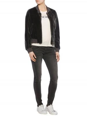 Herrlicher Pearl Slim Denim Black Stretch Jeans