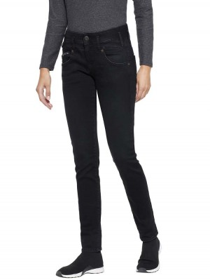 Herrlicher Pearl Slim Black Stretch Jeans
